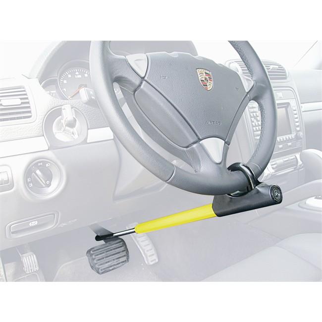 barra antirrobo norauto block 100 volante pedal. Black Bedroom Furniture Sets. Home Design Ideas