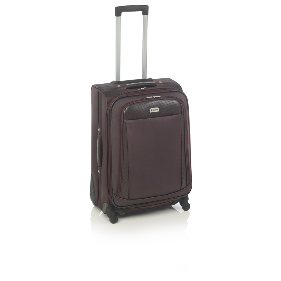 Maleta Trolley JOHN TRAVEL Quest 62cm marrón
