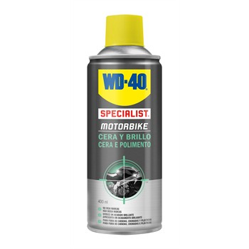 Spry moto WD-40 Cera y brillo 400 ml