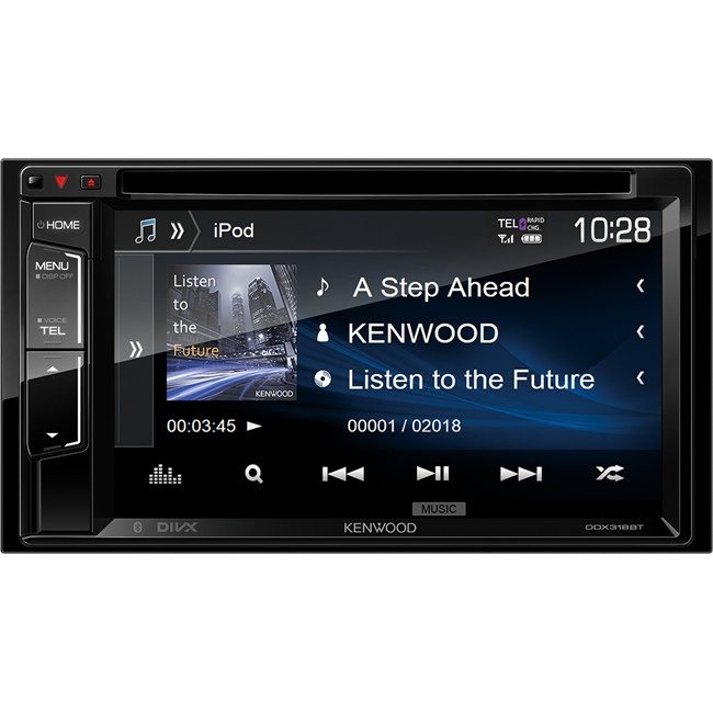 autoradio kenwood ddx318bt. Black Bedroom Furniture Sets. Home Design Ideas