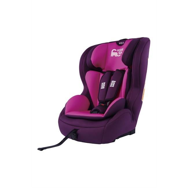 Silla beb isofix kids safe ks 1000 rosa grupo 1 2 3 for Sillas coche bebe isofix grupo 1 2 3