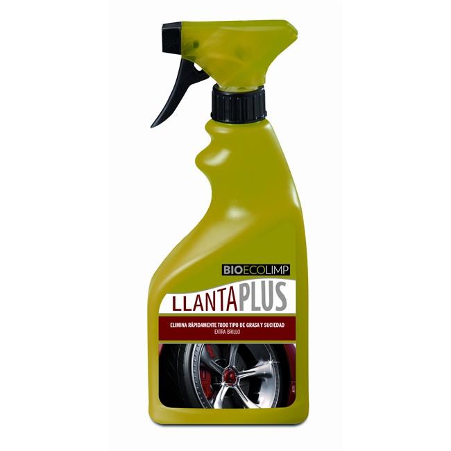 Limpia llantas bioecolimp llanta plus 500 ml for Limpia caudalimetros norauto