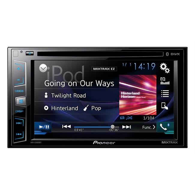autoradio pioneer avh x2800bt. Black Bedroom Furniture Sets. Home Design Ideas