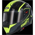 Casco Moto integral SWIFFER fluorescente M