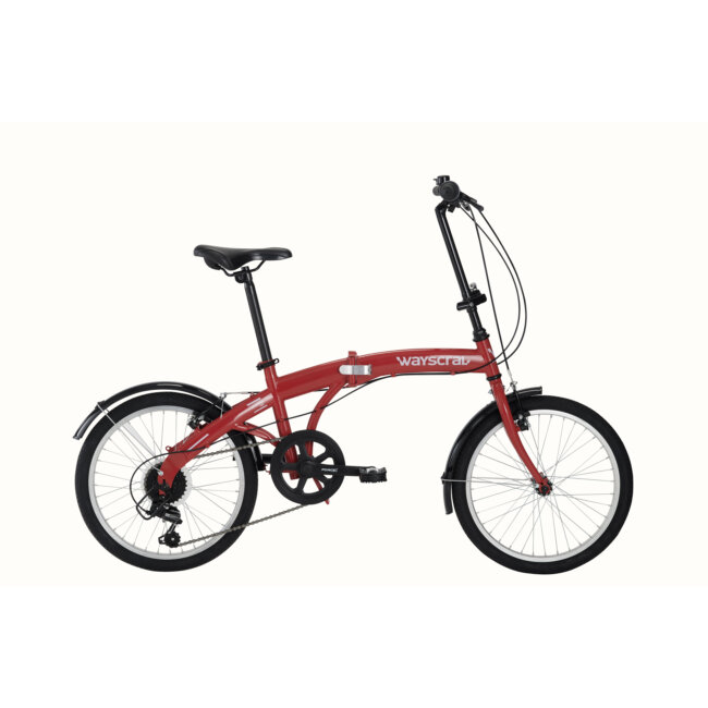 Bicicleta Plegable Wayscral Takeaway 100 Roja