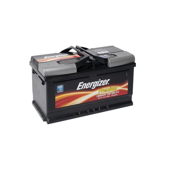 Batería Energizer Premium Em80-lb4 80ah-740a
