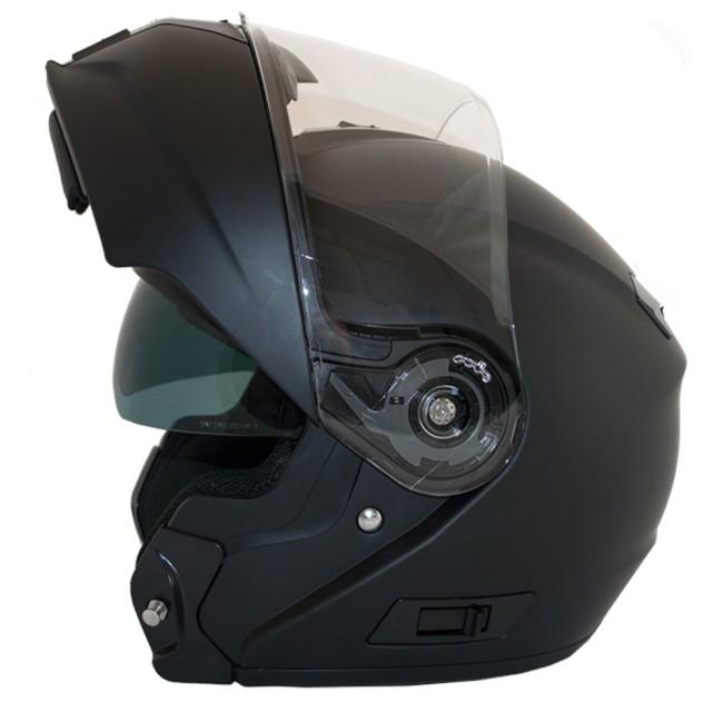 8232135cfc985 Casco Moto Modular solar LEM Openit Grafito gris antracita XXL ...