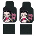 4 Alfombrillas coche universales de PVC BETTY BOOP color rosa