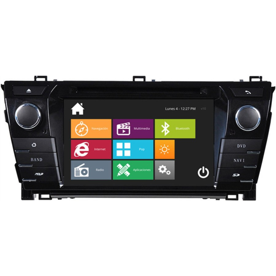 Autoradio DVD NAVISSON AURIS 14 NV-TY019V10