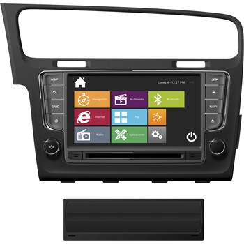 Autoradio DVD NAVISSON GOLF-7 NV-VW004V10