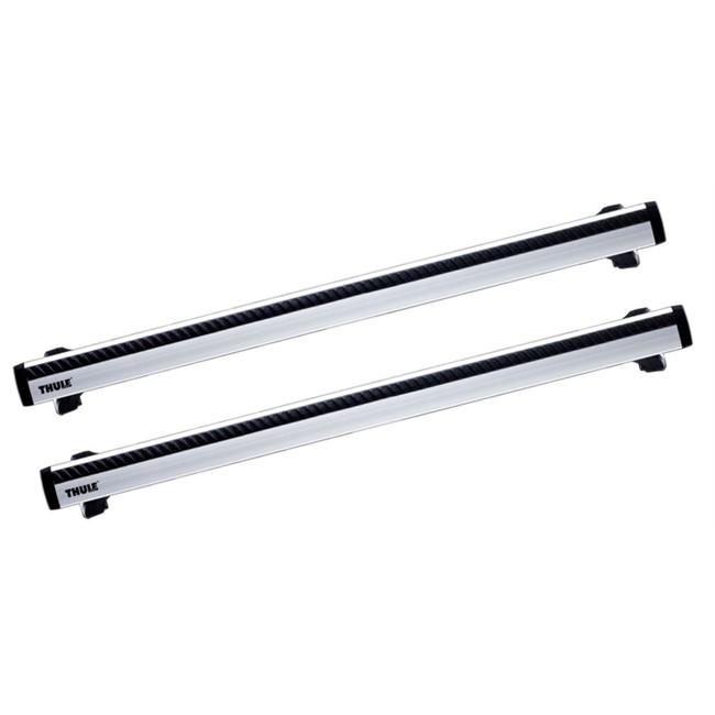 2 barras thule wingbar 961 de aluminio. Black Bedroom Furniture Sets. Home Design Ideas