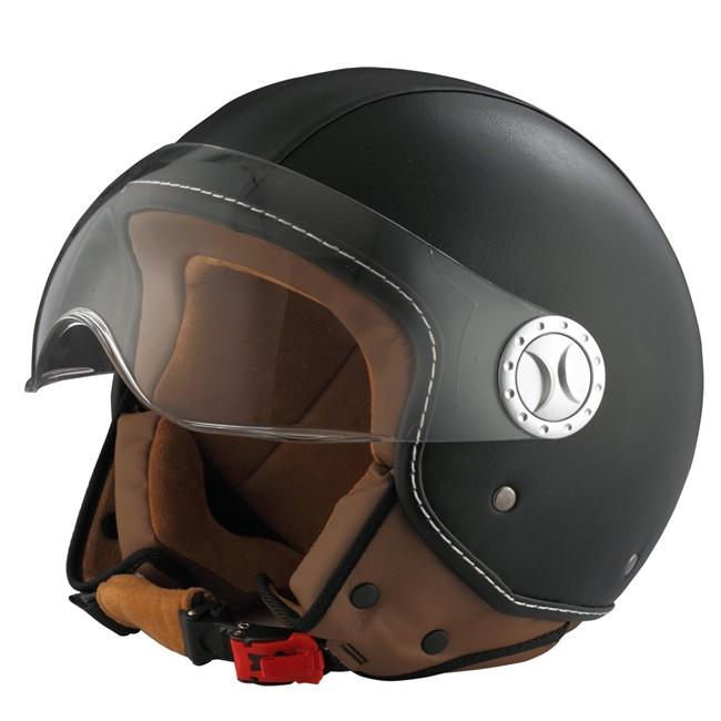 Casco Moto Jet RIDE 701 cuero negro M   Norauto.es 9709a0e7547e8