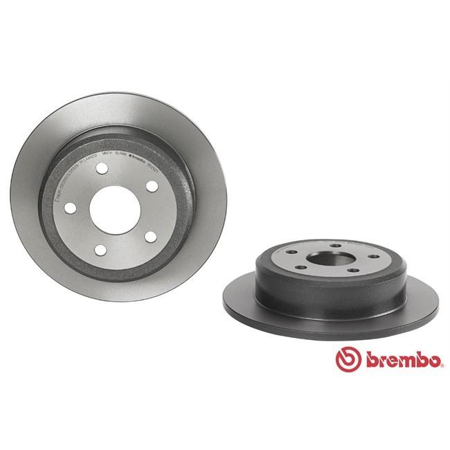 Brembo 08.5005.14 Rotores de Discos de Frenos