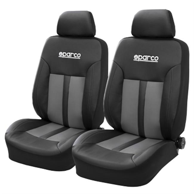 Juego de fundas sparco gris delanteras - Fundas para asientos de coches ...