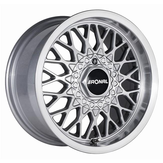 Ronal ls 7 5x15 4x100 et25 57 1 silver llanta de aluminio - Pulir llantas de aluminio a espejo ...