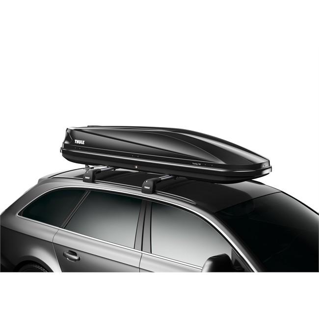 maletero de techo thule touring alpine 700 negro brillante 430 l. Black Bedroom Furniture Sets. Home Design Ideas