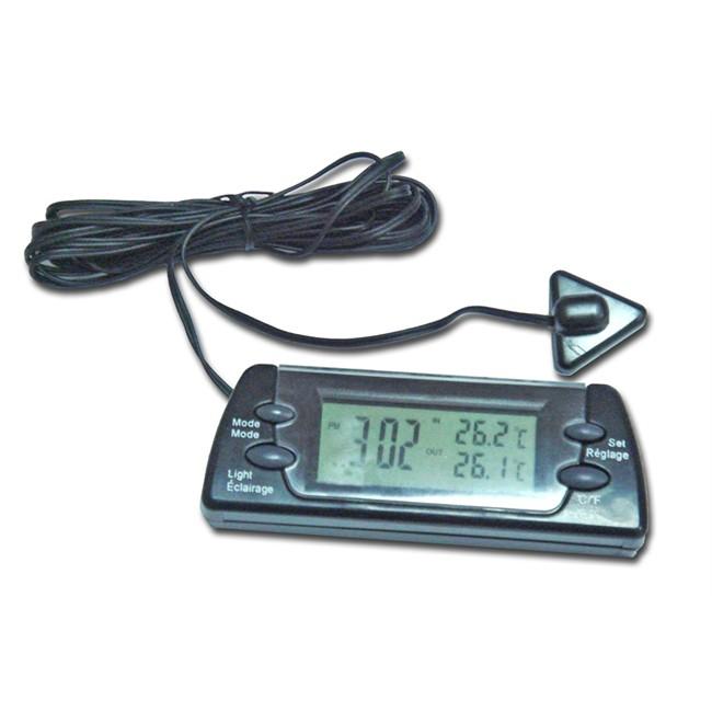 Reloj term metro digital interior exterior - Termometro interior exterior ...