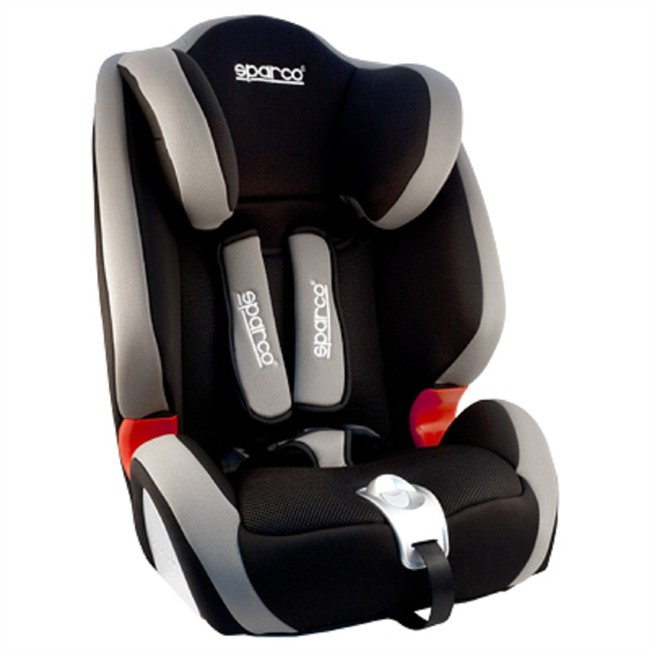 Realce sparco f1000 gris gr 1 2 3 - Silla bebe sparco ...